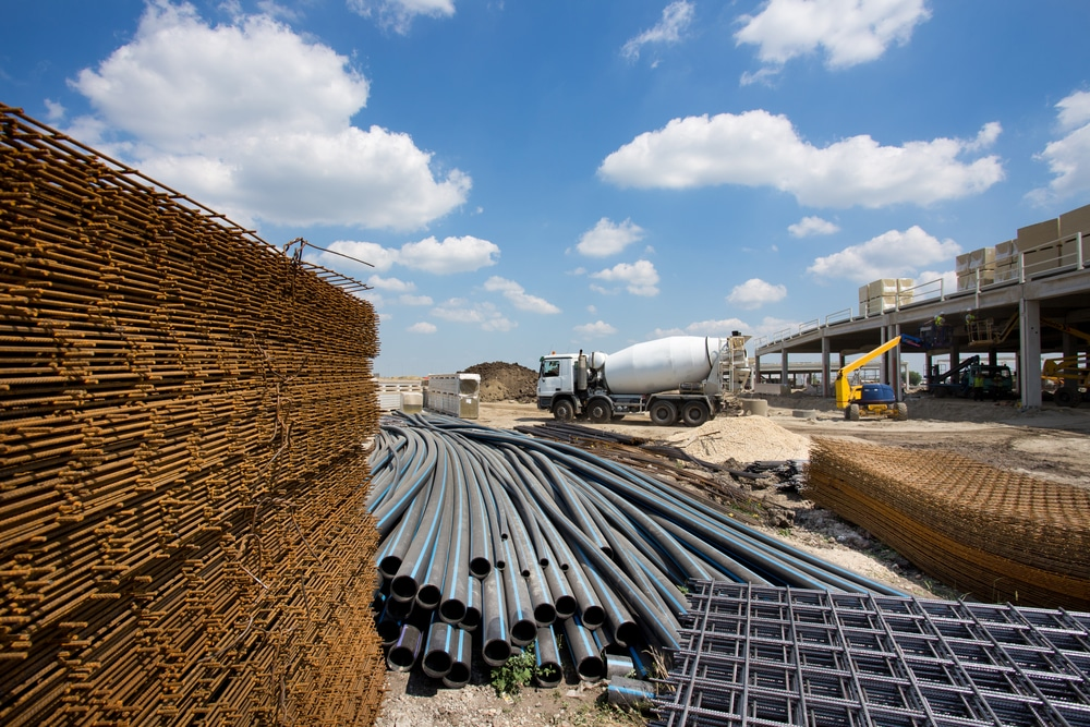 Baumaterial - Werklieferungsvertrag - Vorliegen eines Dissens