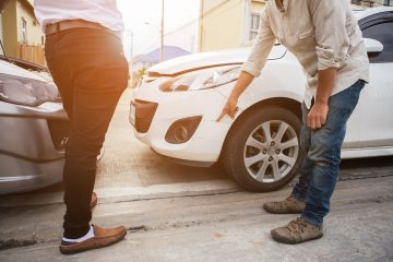 Verkehrsunfall – Beweislast bei einem vorgeschädigten Fahrzeug