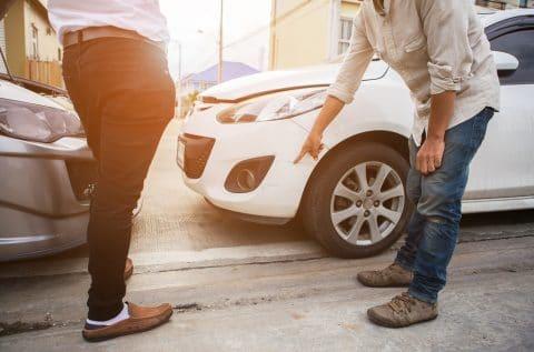 Verkehrsunfall - Beweislast bei einem vorgeschädigten Fahrzeug