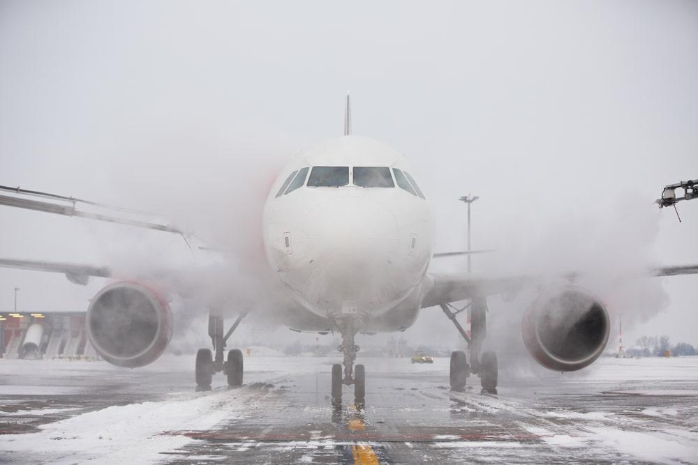Fluggastrechte bei Flugverspätung - extreme Witterungsverhältnissen