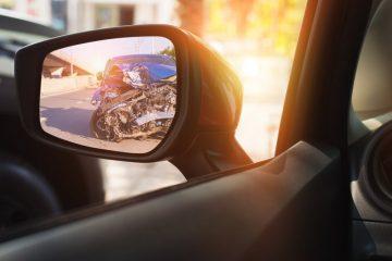 Verkehrsunfall – Kollision zwei rückwärtsfahrender Fahrzeuge