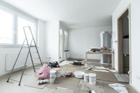 Renovierungsarbeiten in einer Ehewohnung - Mitverpflichtung des anderen Ehegatten