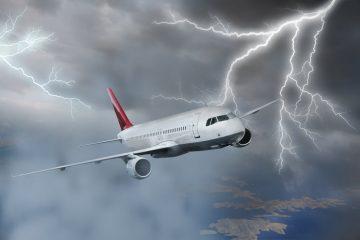 Flugverspätung – Flugzeugaustausch aufgrund eines Blitzeinschlags