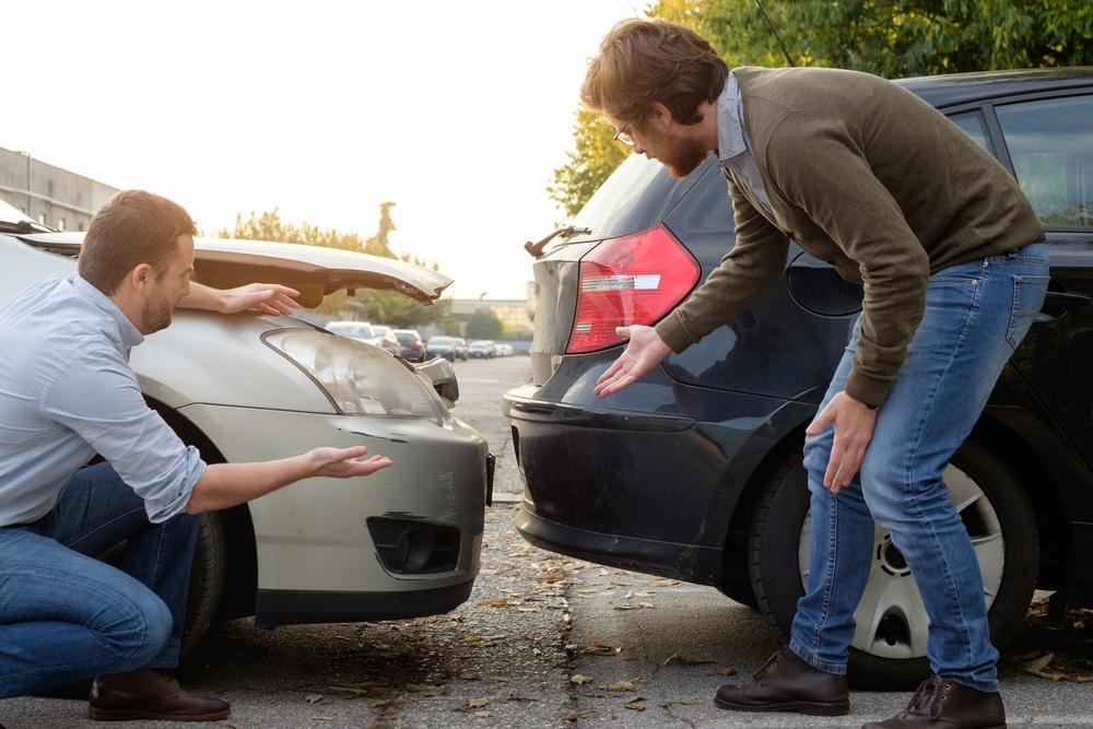Verkehrsunfall - Verursachungsbeitrag bei einem Unfall ohne Fahrzeugberührung