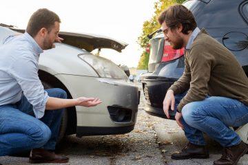 Verkehrsunfall – Auffahrunfall durch ein zurücksetzendes Fahrzeug