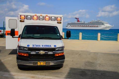 Schiffsreise - Bordverweis medizinisch nicht indiziert