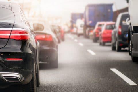Verkehrsunfall - Haftung beim Wechsel einer Fahrspur