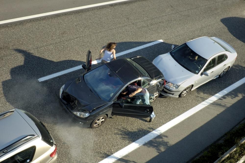 Auffahrunfall - Anscheinsbeweis - Bundesautobahneinfahrt
