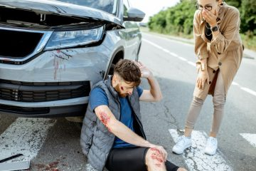 Verkehrsunfall mit Fußgänger – nicht auf dem kürzesten Weg die Fahrbahn überquert