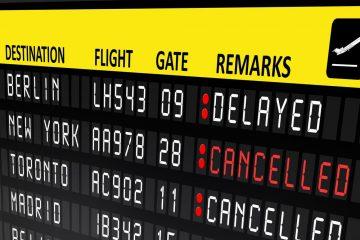 Flugstornierung – Rückzahlung von Steuer und Gebühren sowie Vergütung
