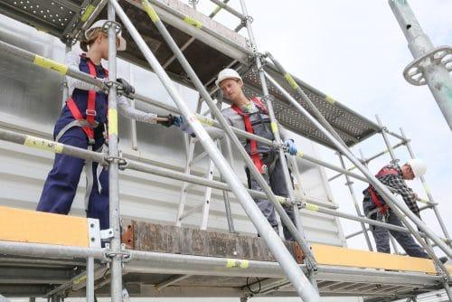 Schadensersatzanspruch des Gerüstbauers gegen Auftraggeber bei Baugerüstdiebstahl