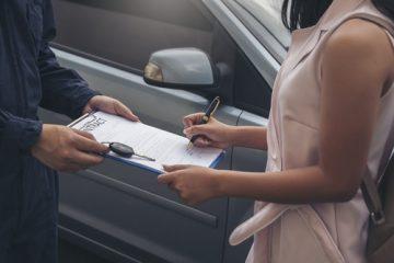 Kraftfahrzeugleasingvertrag mit Kilometerabrechnung – Minderwertausgleich für Schäden