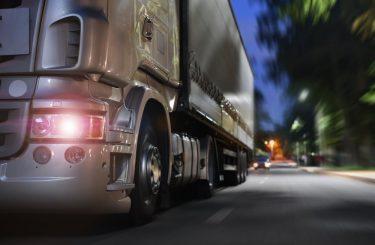 Verkehrsunfall - persönliche mitgeführte Gegenstände eines Lkw-Fahrers