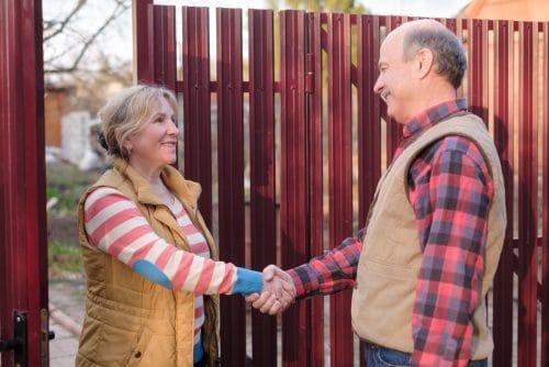 Gewohnheitsrecht - Jahrelange Beibehaltung einer Regelung durch zwei Grundstücksnachbarn