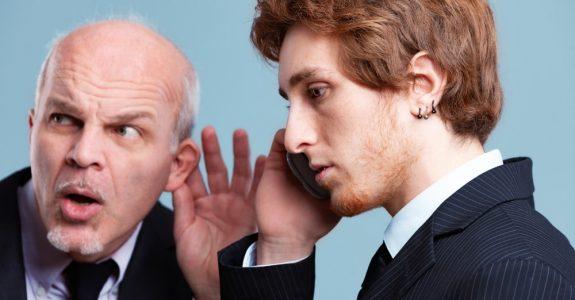 mitgehörtes Telefongespräch im Geschäftsverkehr - Beweisverwertung