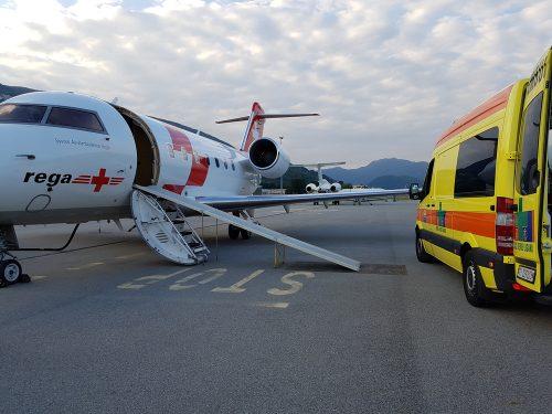 Auslandsreisekrankenversicherung - medizinische Notwendigkeit des Rücktransports