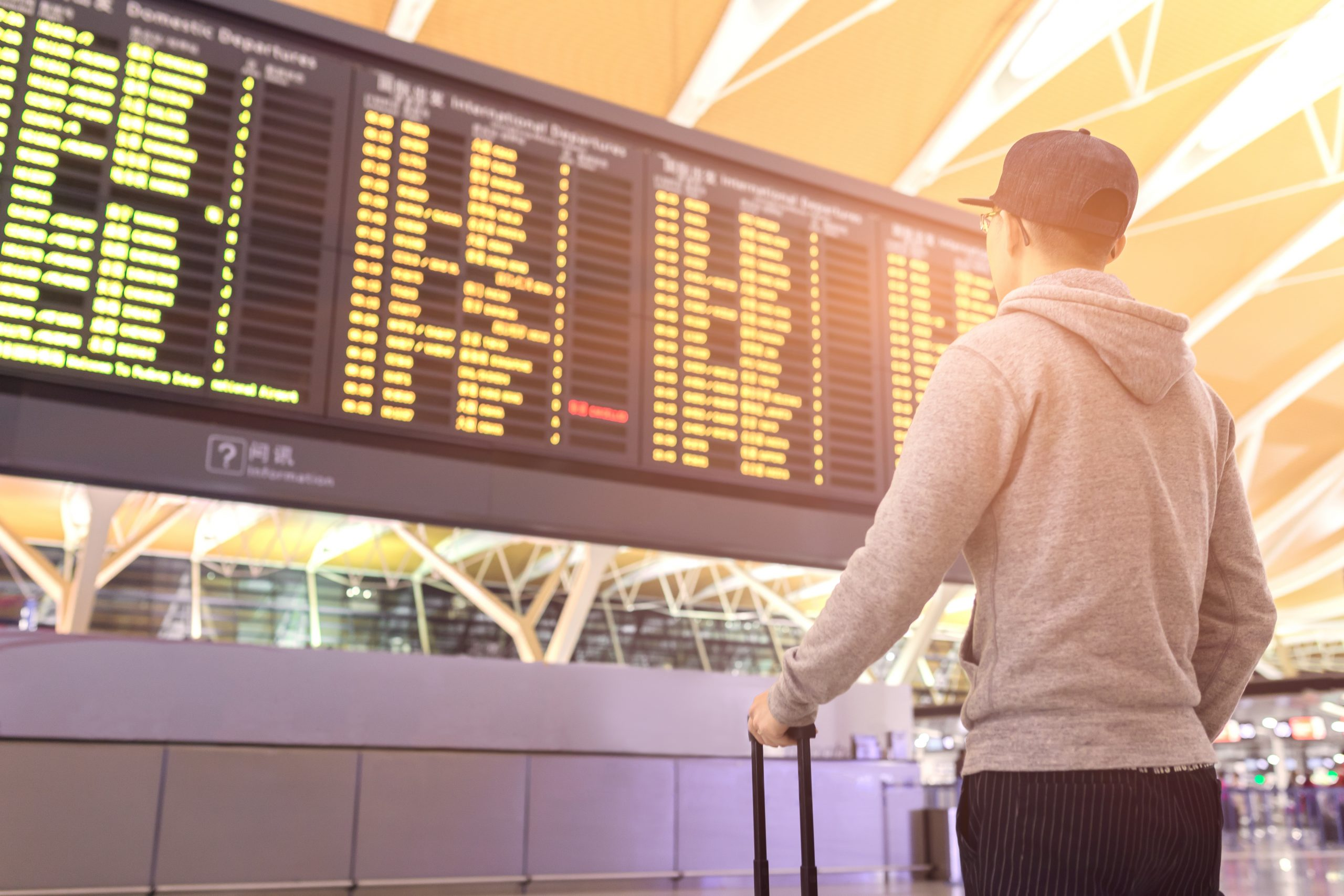 Fluggastrechte bei Flugannulierung - außergewöhnliche Umstände auf Grund politischer Unruhen