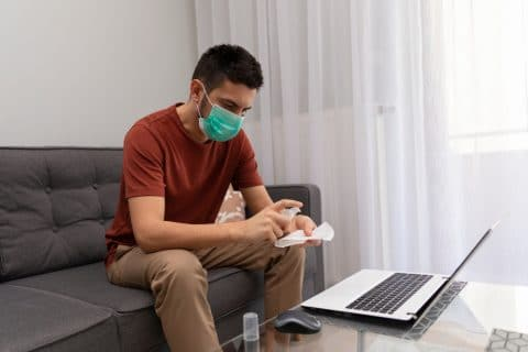 Verlassen des Ortes der Nebenwohnung wegen Coronavirus