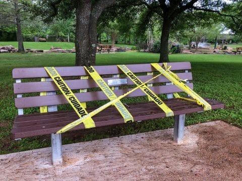 Beschränkung des Betretens öffentlicher Orte zur Eindämmung des Coronavirus