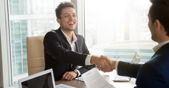 Handelsvertreter - Vertragsabschluss mit einem Vertreter