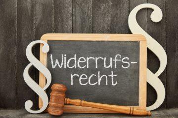 Widerrufsrecht – Fernabsatzgeschäft – Diagnosekabel mit Software