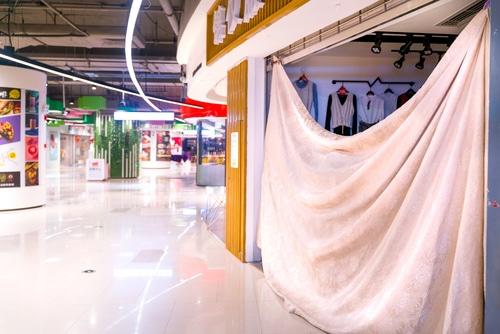 Coronavirus – Einzelhandelsöffnung - abgetrennte Fläche von 800 m²