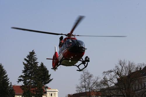 Fahrzeugbeschädigung durch landenden Rettungshubschrauber - Haftung