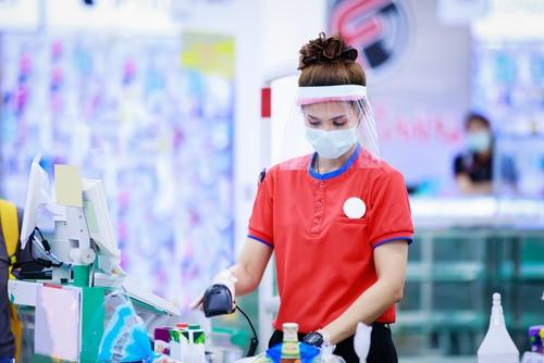 Infektionsschutz - Betriebsuntersagung für den Einzelhandel - Verkaufsflächenbegrenzung