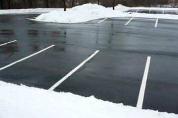 Umfang der Räum- und Streupflicht auf einem privaten Kundenparkplatz