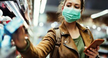 Corona-Pandemie - Mund-Nase-Bedeckung - notwendige Schutzmaßnahme