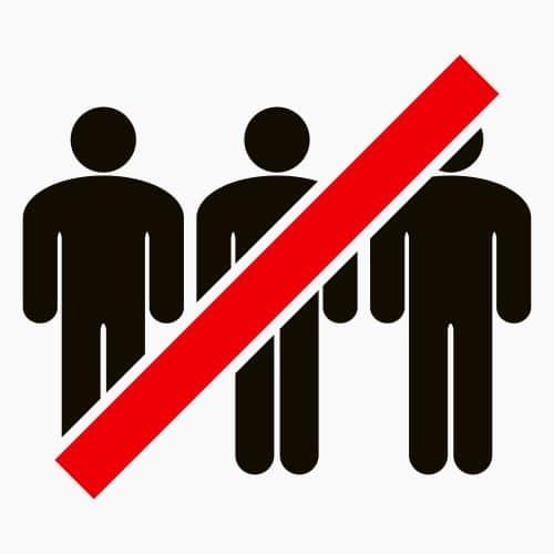 Coronapandemie - Ausnahmegenehmigung für Versammlung mit bis zu 10.000 Teilnehmern