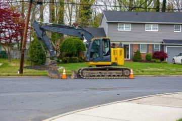 Straßenbauarbeiten – Haftung bei Beschädigung eines Wohnhauses