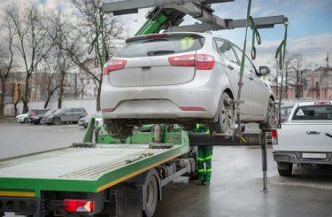 Abschleppmaßnahme - Parken im mobilen absoluten Halteverbot - Leerfahrt
