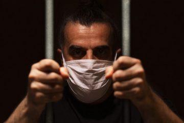 Corona-Pandemie – Tragen eines Mund- und Nasenschutzes in einer Justizvollzugsanstalt
