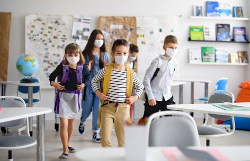 Tragen von Mund-Nasen-Bedeckung in Schulen - Zulässigkeit