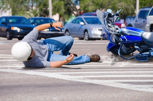 Verkehrsunfall Motorradfahrer - Schmerzensgeld bei Schädelhirntraumas - Weichteilkontusion