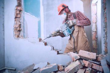 Hammerschlags- und Leiterrecht bei Abbrucharbeiten