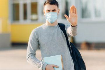 Eilantrag gegen Pflicht zum Tragen einer Mund-Nasen-Bedeckung für Oberstufenschüler