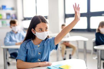 Maskenpflicht Schule – gesundheitliche Beeinträchtigung – Essen – Trinken – Klausuren
