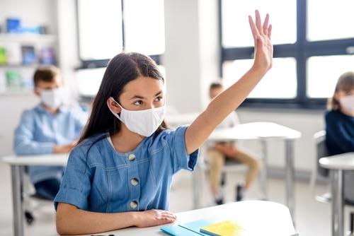 Maskenpflicht Schule - gesundheitliche Beeinträchtigung – Essen – Trinken - Klausuren