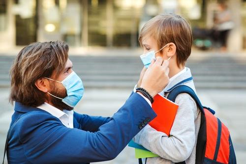 Maskenpflicht auf dem Schulgelände und bei Mittagsbetreuung - Befreiung von der Maskenpflicht