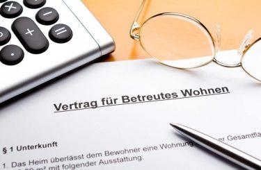 Kündigung Vertrag über betreutes Wohnen bei krankheitsbedingter Schuldunfähigkeit