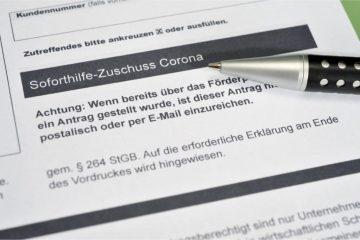 Beantragung von Corona Hilfen über Steuerberater und Rechtsanwälte