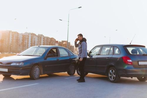 Verkehrsunfall - streitige Vorfahrtsverletzung - Wartepflicht