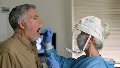 Corona-Pandemie - Nachweis von Infektionen anhand von PCR-Tests