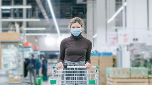 Corona-Pandemie-Verordnung - Betretungsbeschränkungen Einzelhandel