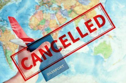 Reiserücktritt wegen Corona-Pandemie