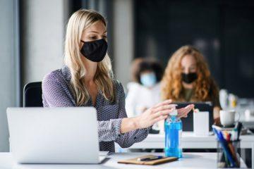 Corona Abstandsregeln – Einsatz als Greeter bei Hygienemaßnahmen