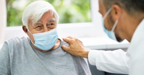 Corona-Pandemie - Besuchskonzept mit Besuchseinschränkungen in Pflegeeinrichtung