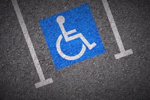 Parkerleichterungen für schwerbehinderte Menschen - Parkausweis